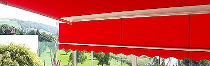 offene markisen gelenkarm markisen kuntze gmbh. Black Bedroom Furniture Sets. Home Design Ideas